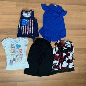 Bundle of 5 Size 7 Girl's Clothes